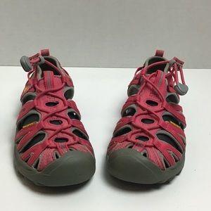 Keen pink waterproof trail sport sandals. 4